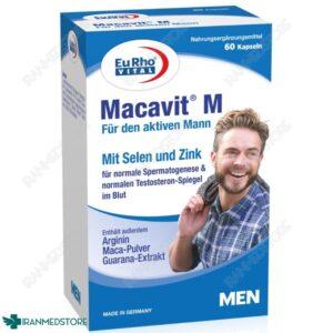 کپسول ماکاویت ام یورو ویتال ۶۰ عددی